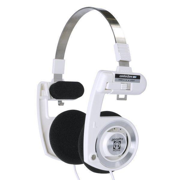 美国Koss 高斯 PortaPro 便携式头戴耳机 白色限定版3707日元