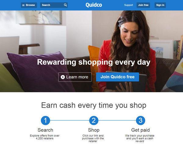 英国返利网之Quidco返利注册流程