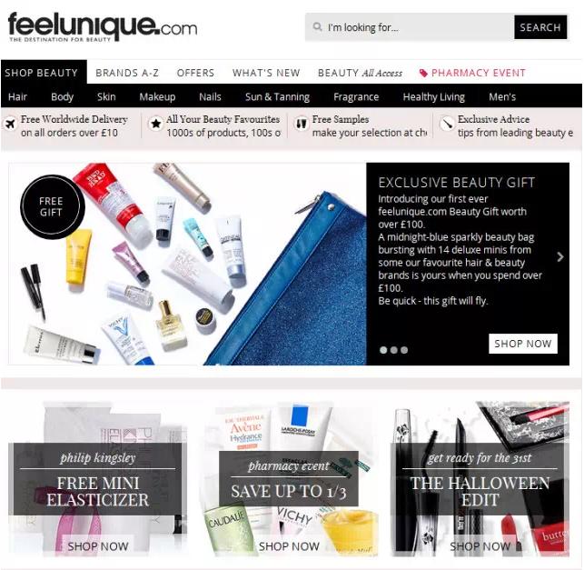 全球可直邮护肤品网站有哪些?可直邮护肤品网站盘点