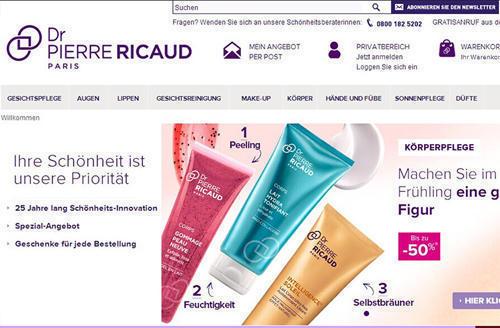 Ricaud美妆网站教程 Ricaud美妆海淘攻略