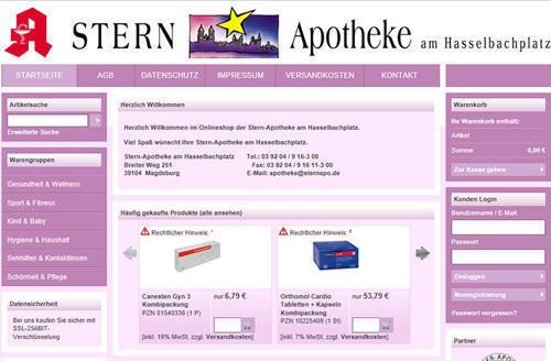 德国Stern-Apotheke网站购物攻略 PIN购物攻略