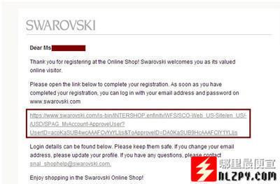 Swarovski施华洛世奇美国官网购买教程
