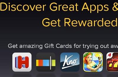 玩apple产品IOS平台FreeMyApps免费赚取itunes Amazon礼品卡