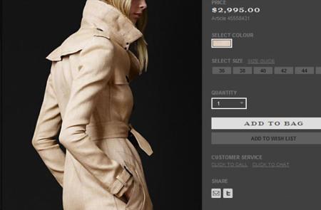 英国奢侈服饰品牌Burberry巴宝莉美国官网海淘攻略教程