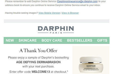 美国敏感肌肤护肤品牌迪梵Darphin官网海淘攻略教程