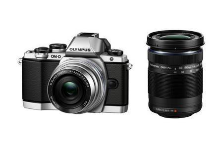 OLYMPUS 奥林巴斯 E-M10 M4 3 双镜头套机65330日元