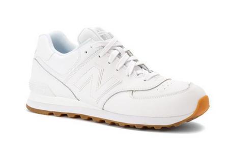 New Balance新百伦 NB574 男款真皮跑鞋 $55 96