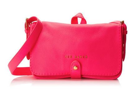英国时尚品牌Ted Baker Markun 女士真皮斜挎包 $125 01