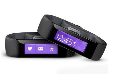 Microsoft 微软 band 智能手环(GPS 心率 体温等)$199 99