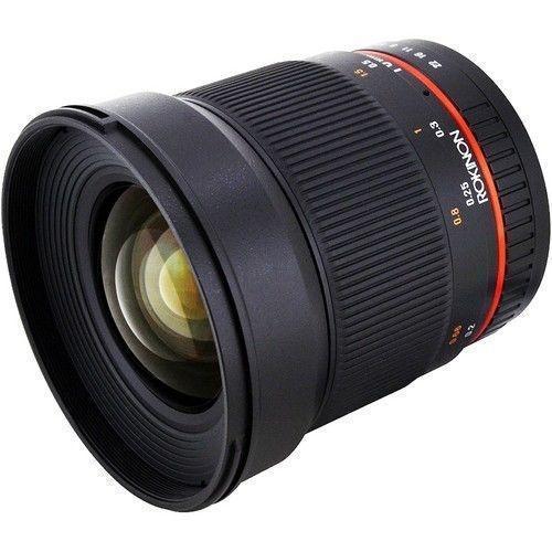 Rokinon 16mm F2 0 超广镜头 等效24mm APS-C单反用 $249 99