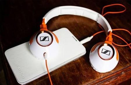 Sennheiser 森海塞尔 HD229 头戴式耳机 白橙色 $26 28