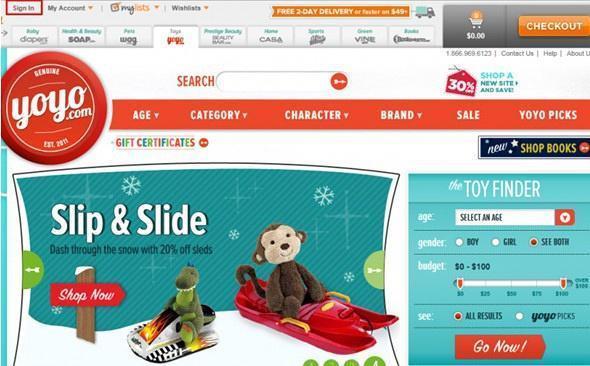 YOYO网玩具海淘攻略教程 yoyo购物流程