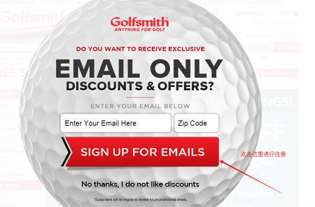 Golfsmith美国官网海淘攻略 Golfsmith教程