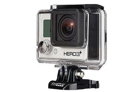 GoPro HERO3+ Edition 摄像机 极限运动 高清摄像机 银色版$219