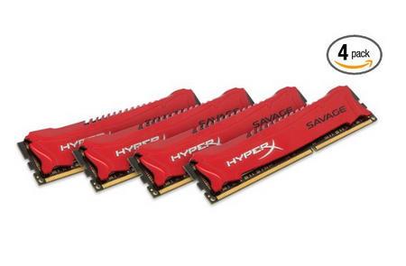 Kingston 金士顿骇客神条 8GB*4 2400MHz DDR3 $219 99