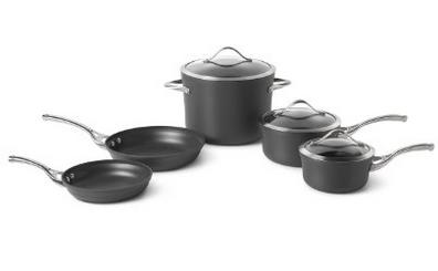 美国顶级锅具品牌Calphalon 不粘锅厨具8件套 $199 95