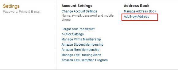 点击进入转运地址填写页面