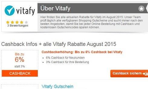 德国最大的健身保健品网站Vitafy海淘攻略