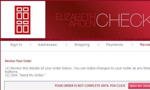 Elizabeth Arden伊丽莎白雅顿官网海淘购物流程