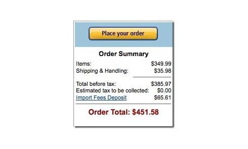 美国亚马逊直邮中国产品及关税问题汇总