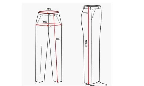 海淘购物衣服裤子对照表 海淘尺码对照表