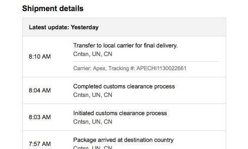 美国亚马逊直邮商品 不受天津812爆炸影响