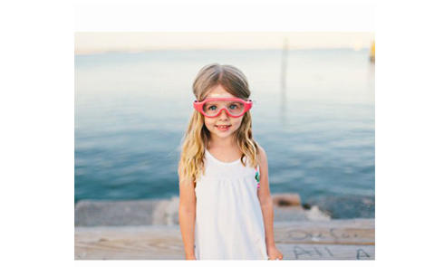 沙滩玩水high起来——海淘儿童泳镜选购指南