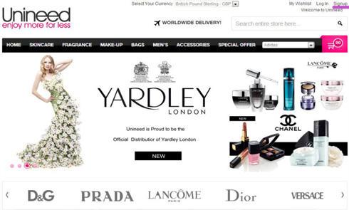 英国著名奢侈品折扣网Unineed中文网即将开通