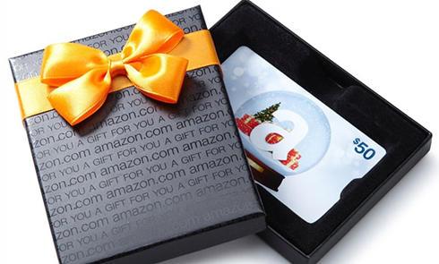 亚马逊礼品卡——下单购买+绑定使用 仅需6步