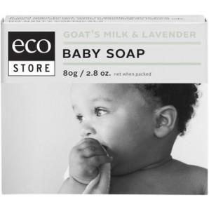 澳洲Pharmacy Online药房直邮:Ecostore 天然婴儿薰衣草羊奶皂 80g