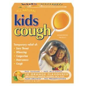 澳洲RoyYoung药房:Kids儿童止咳棒棒糖10支装AU$12 99(约¥60)
