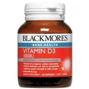 澳洲RoyYoung药房:Blackmores澳佳宝 维生素D3胶囊60粒 AU$9 99 ¥41