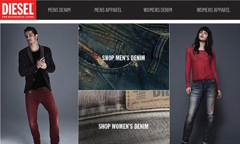 海淘经验:海淘Diesel牛仔裤裤型简介和尺码建议