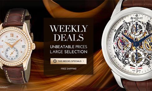 喜欢美淘手表的淘友们,买手表是选择amazon?还是Ashford?
