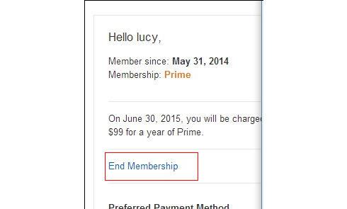 美国亚马逊Prime扣费了如何要回来