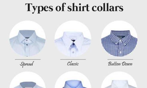海淘衬衣尺码选择 & 衣领分类,Neck Size、Sleeve Length如何测量