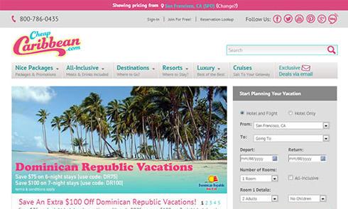 美国创新旅游网CheapCaribbean官网海淘攻略教程