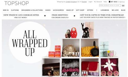 英国快速时尚品牌Topshop官网海淘攻略教程