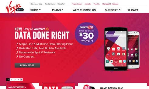美国移动通信网站维珍Virgin Mobile USA官网海淘攻略教程