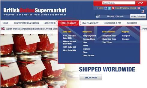 英国在线超市Britishonlinesupermarket官网海淘攻略教程
