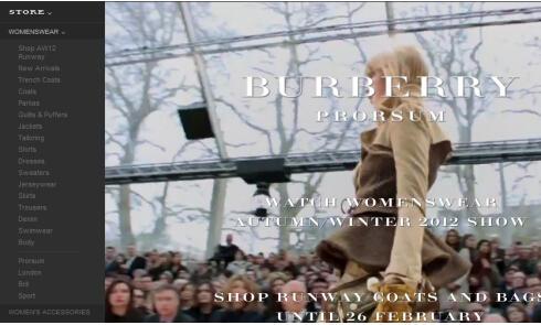 英国奢侈服饰品牌巴宝莉Burberry美国官网海淘攻略教程