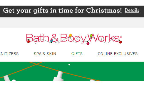 美国沐浴类产品网站Bath & Body Works官网海淘攻略教程