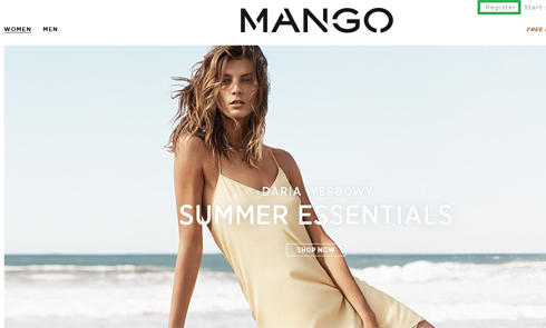 欧洲西班牙芒果时尚女装Mango美国官网海淘攻略教程
