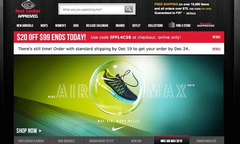 美国体育运动用品Sneakerhead圣地Footlocker官网海淘攻略教程