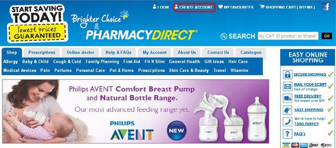 澳洲海淘之pharmacydirect网上商城购买攻略