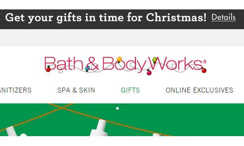 Bath & Body Works美国官网海淘攻略教程