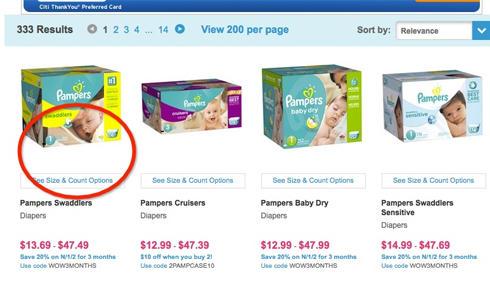 美国亚马逊旗下母婴网站Diapers注册购物指南