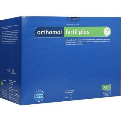 德国UKA优卡有机生活馆 Orthomol Fertil Plus 男性备孕活精胶囊 90袋