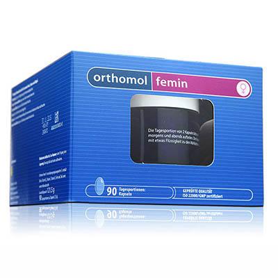 德国UKA优卡有机生活馆 Orthomol Femin 女性滋养 更年期内分泌调理胶囊 180粒