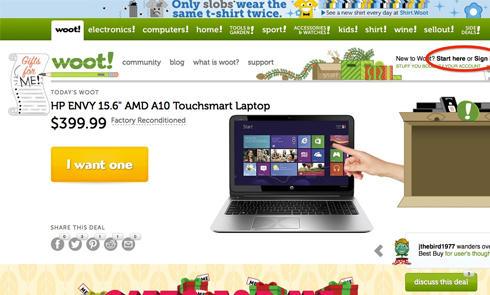 Amazon旗下购物网站Woot美国官网注册购物攻略